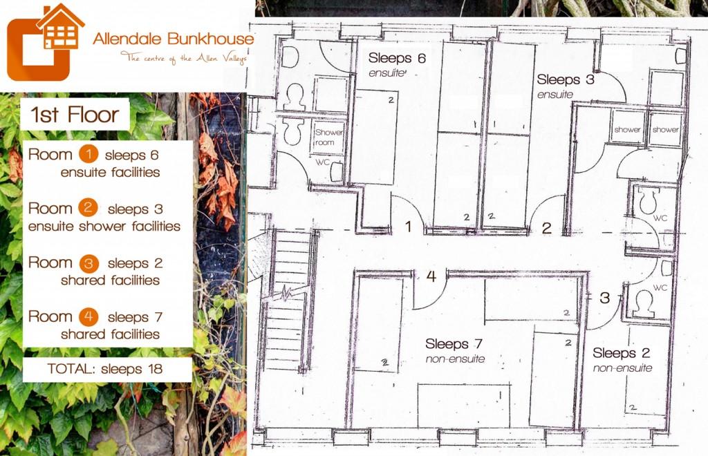 WEB 2 Allendale Bunkhouse - 1st Floor - Front Door